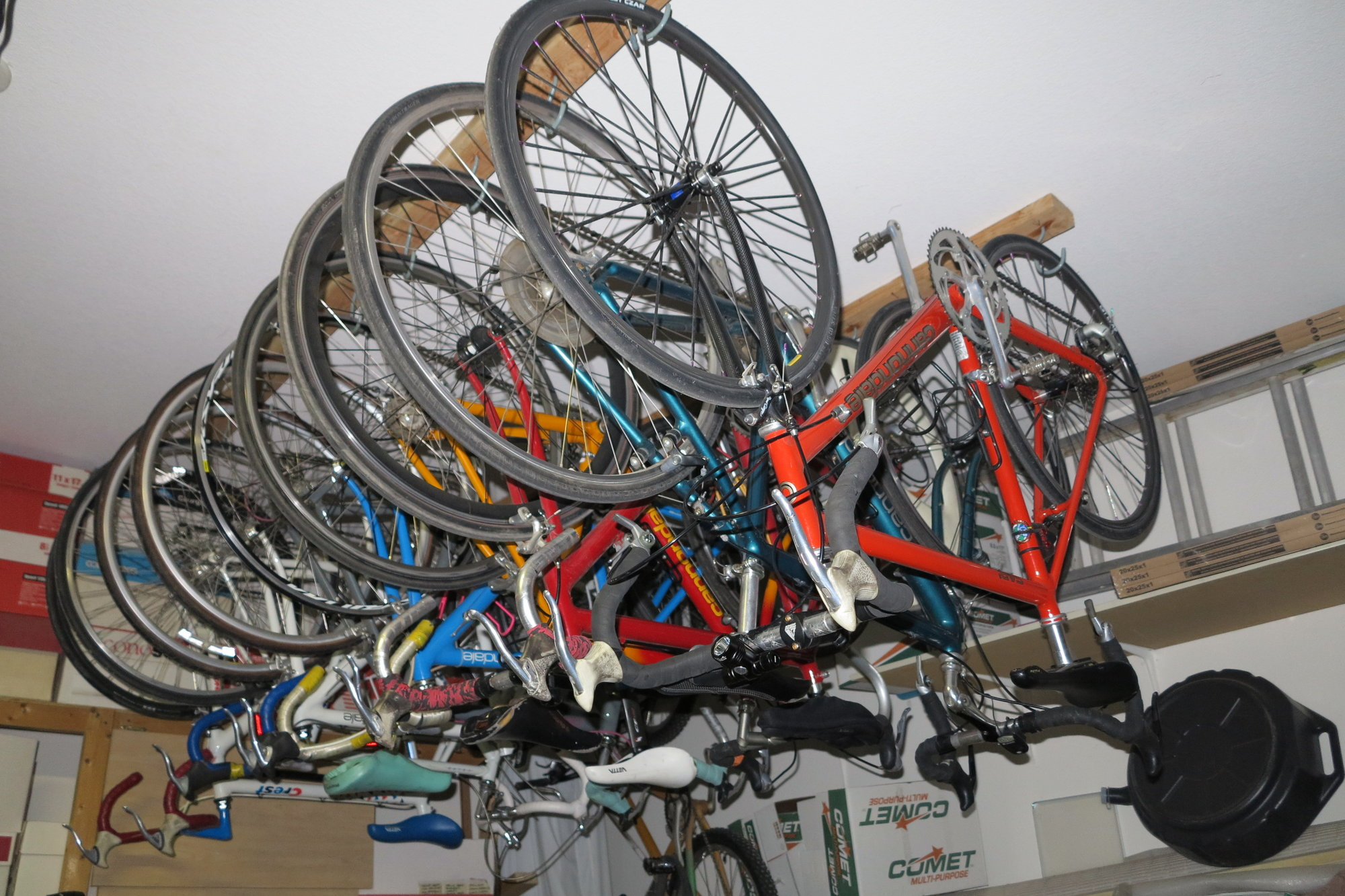Its Easier To Keep The Bikes Clean Right