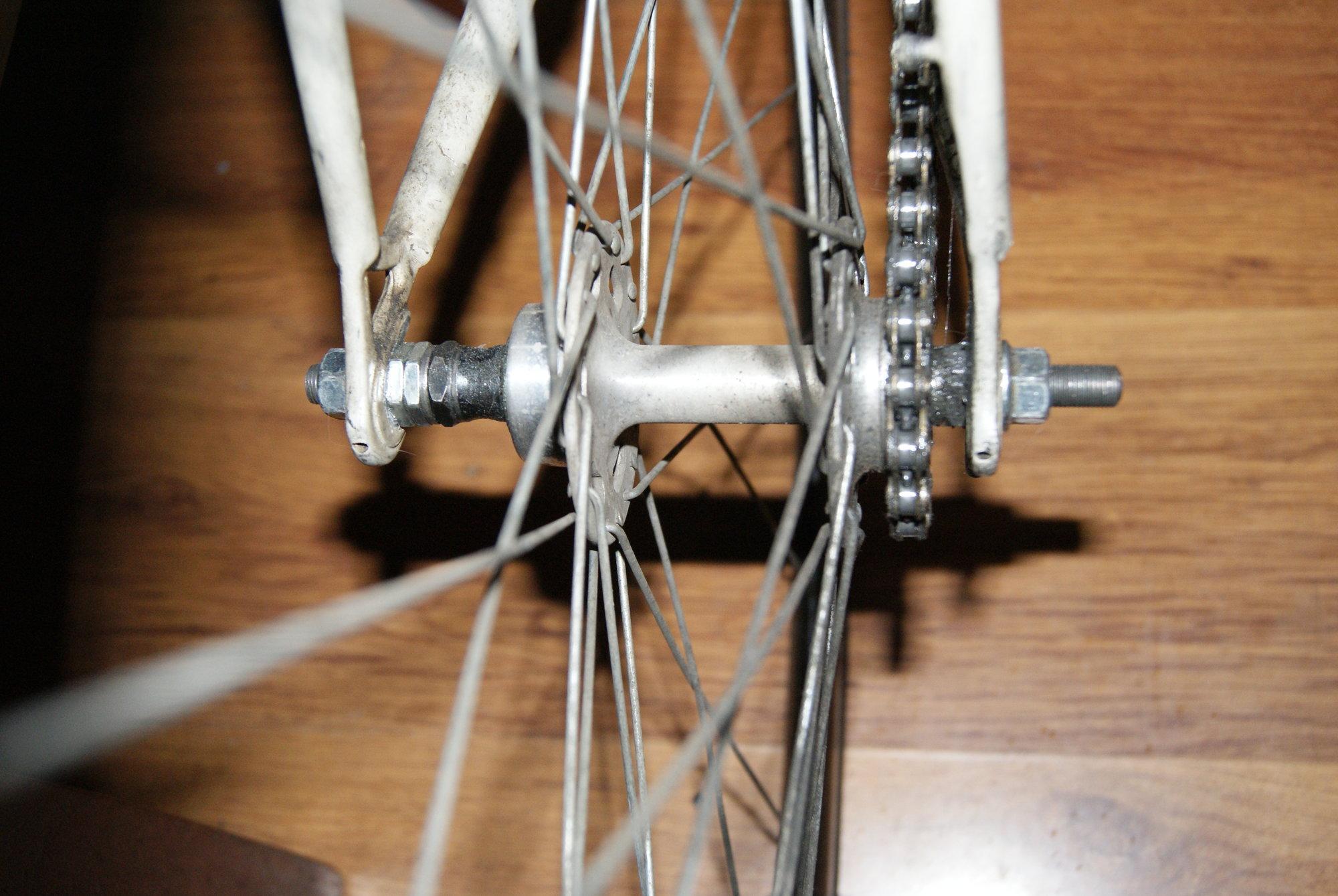 Widening A Hub Bike Forums