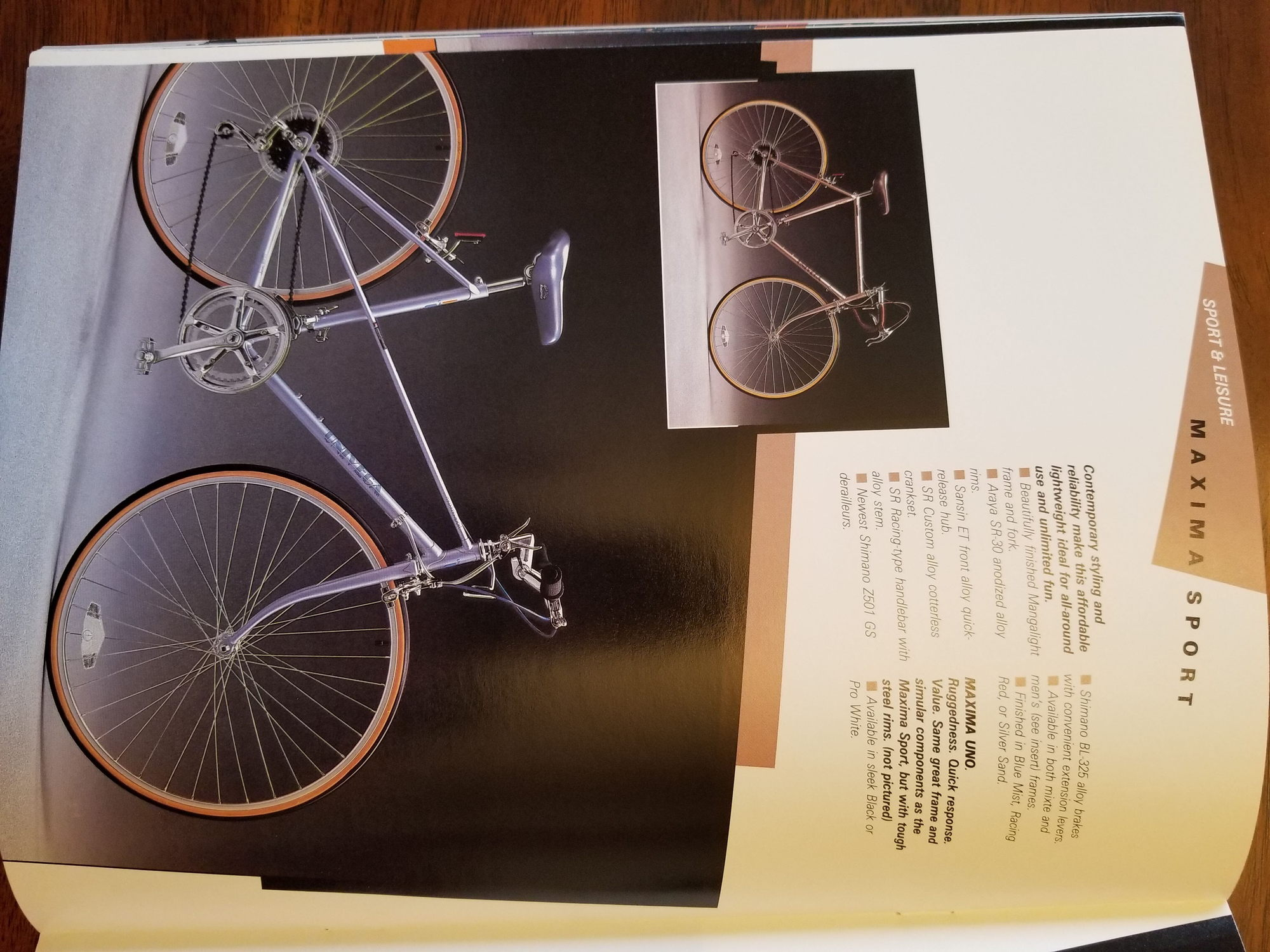 1985 and 1986 Univega Catalogs - Bike Forums