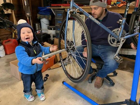 Future mechanic! (18 mos)