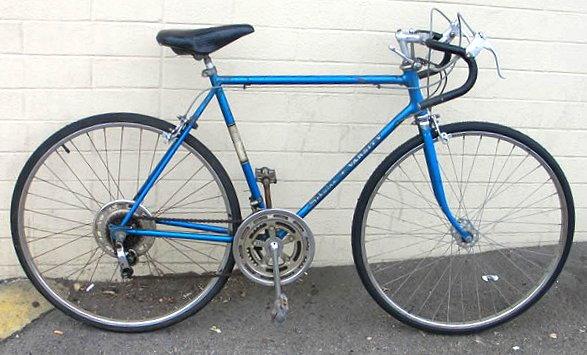 009e5573637 Steps to changing a Schwinn Varsity into a weight weenie bike: