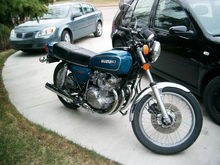 79 GS550. First bike. Perfect learner. 2008