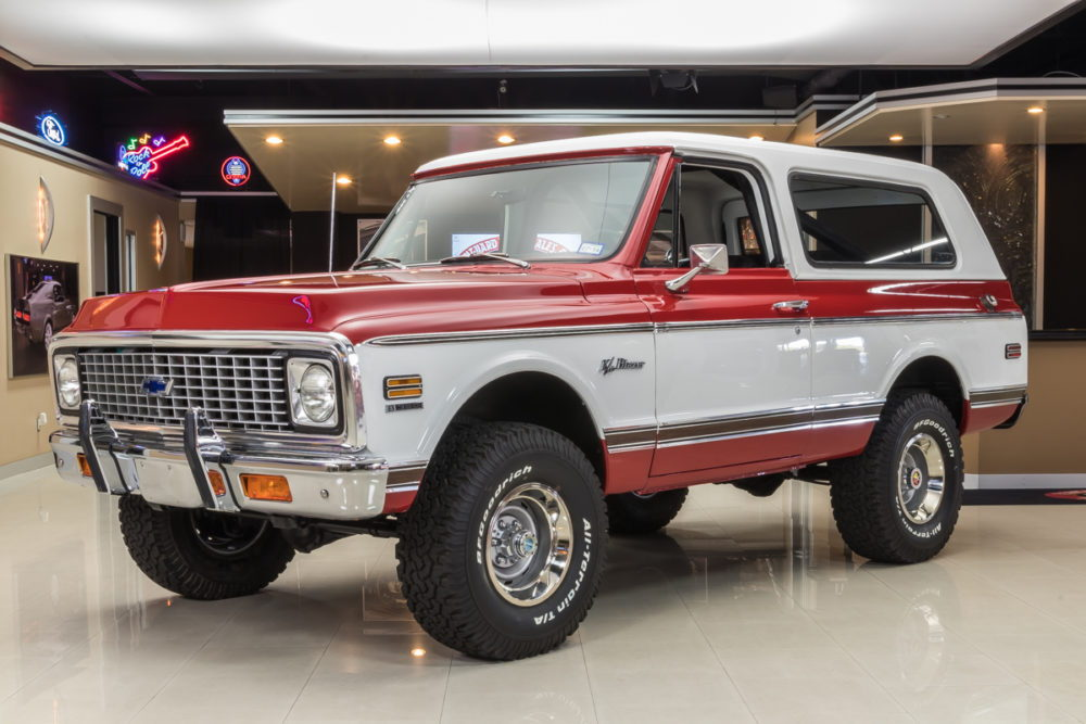 Tight Restored Chevy Blazer K5 Will We See Prices Spike