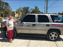 Taking my mom down to the keys to sight see. This tahoe has 430K and has been passed down to my daughter