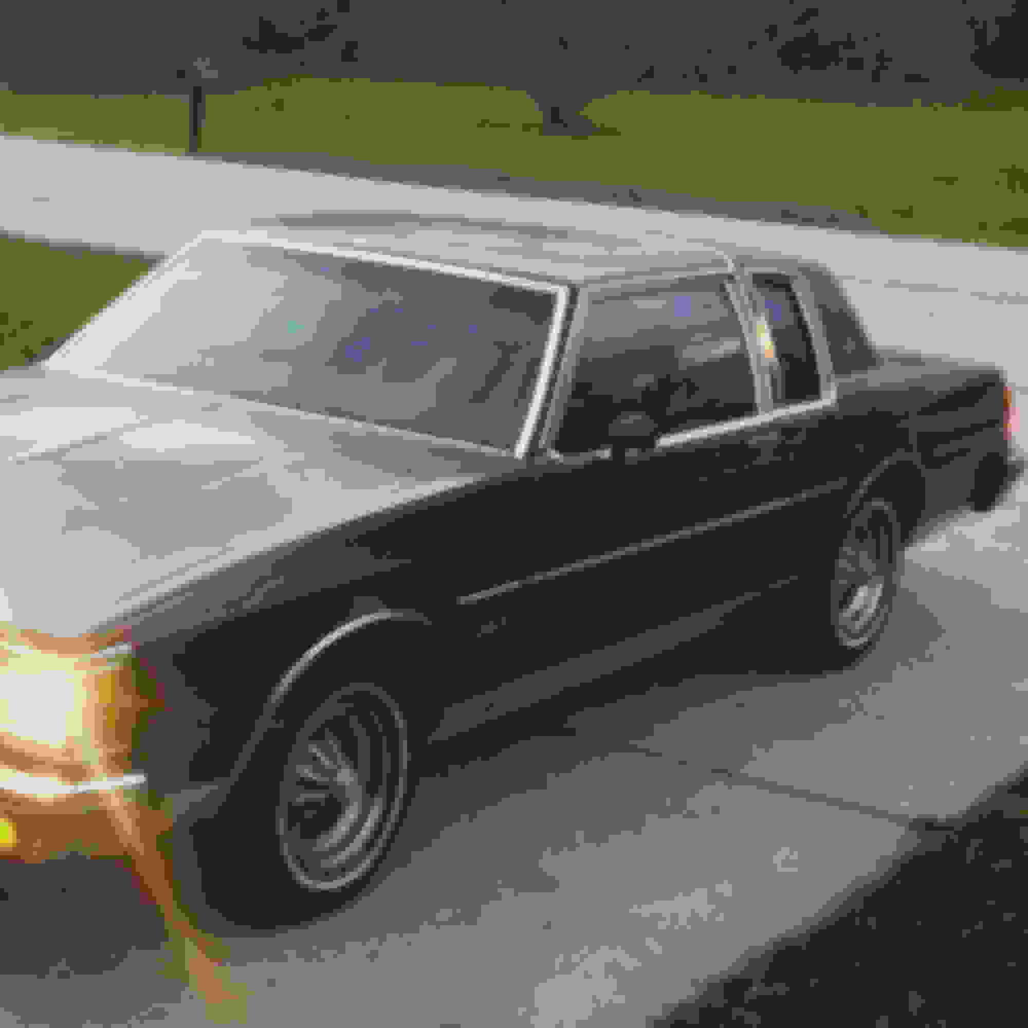 1980-1984 Oldsmobile 98 Regency 2-Piece Rear Quarter Panel Bumper Filler Set