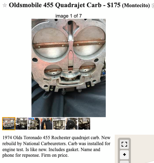 Online parts finds  Post CL&Ebay links HERE  - Page 12
