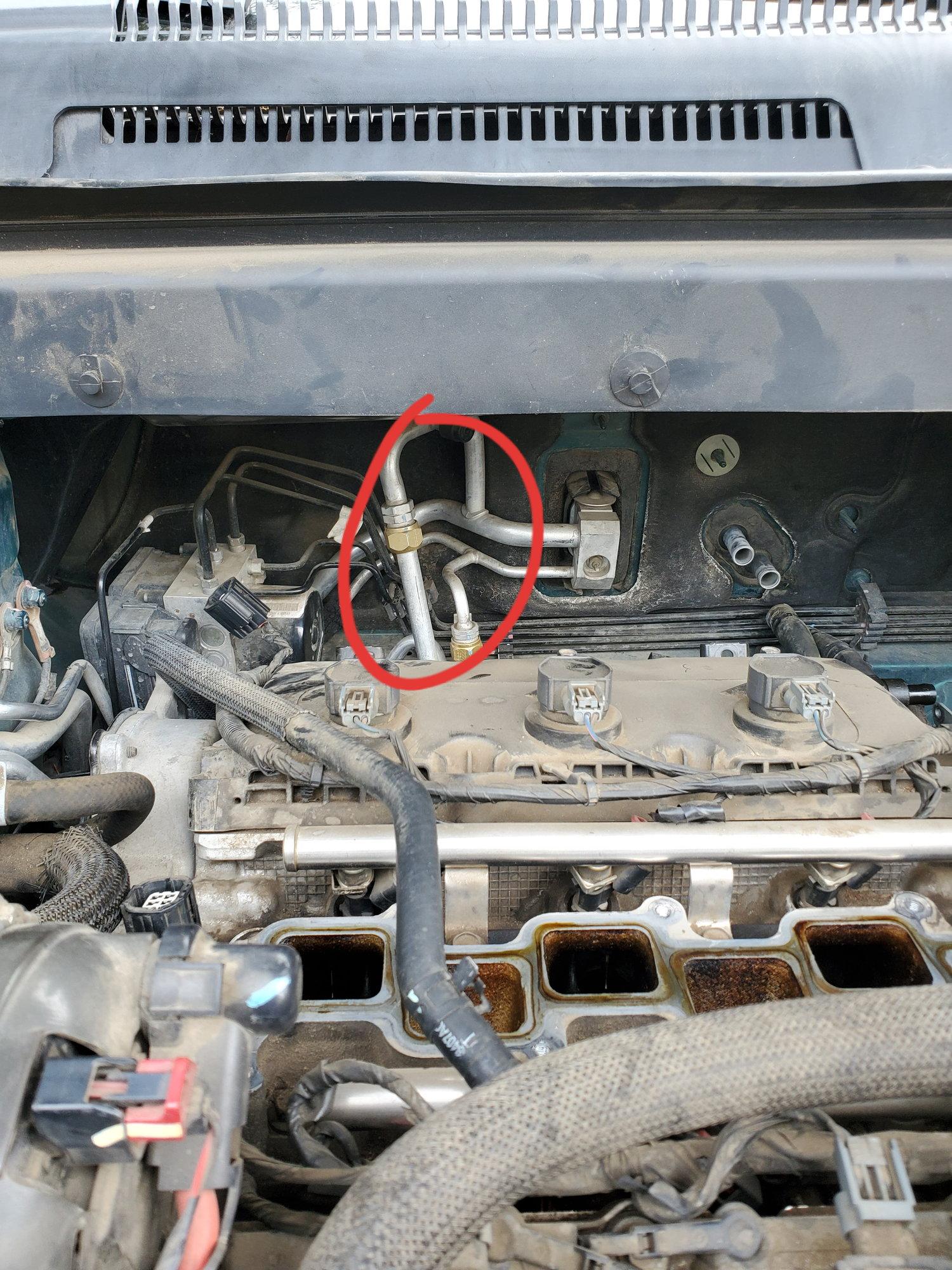 09 Dodge Journey Leaking Coolant Dodgeforum Com