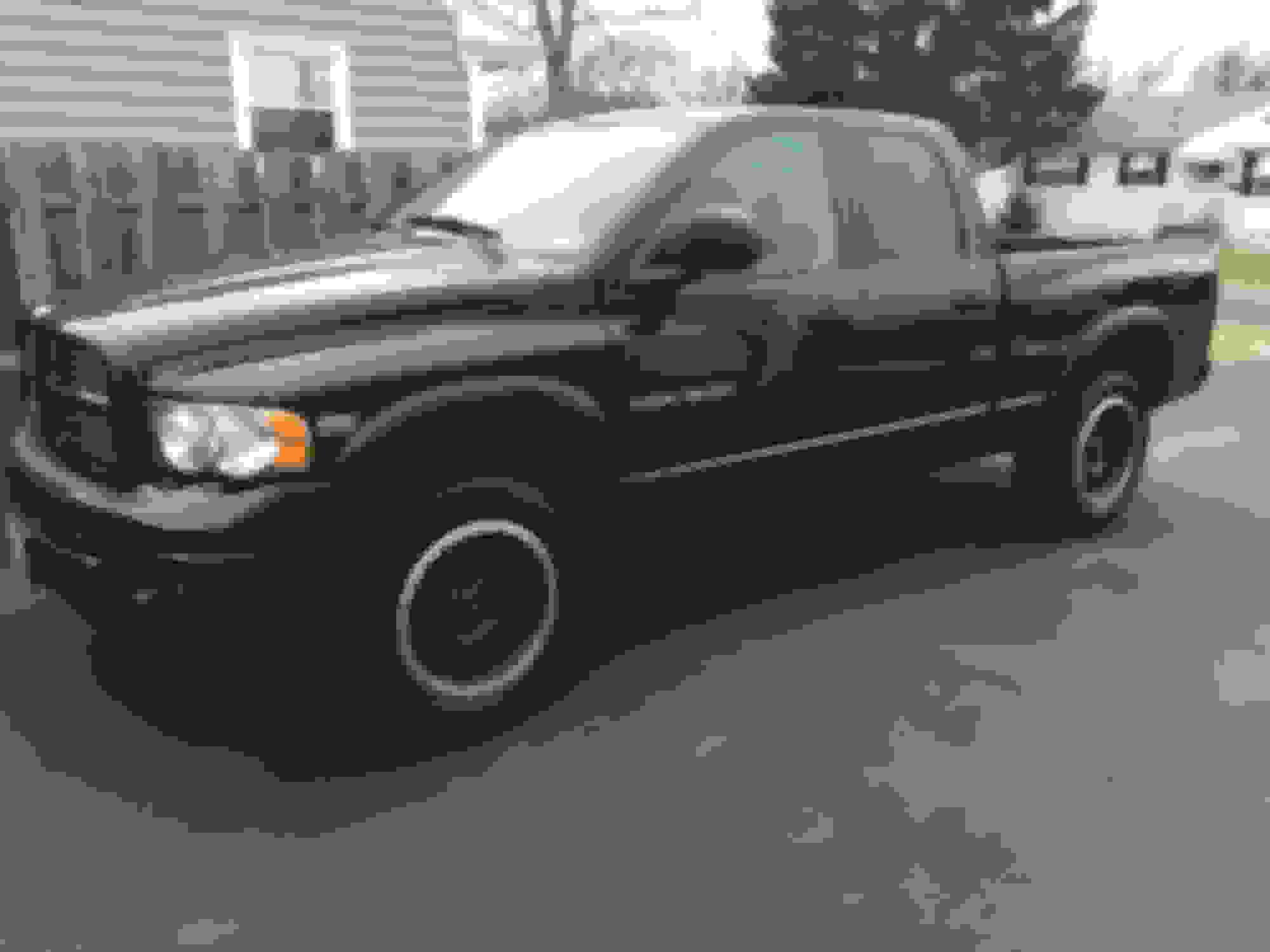 Rust in rear wheel wells - DodgeForum com