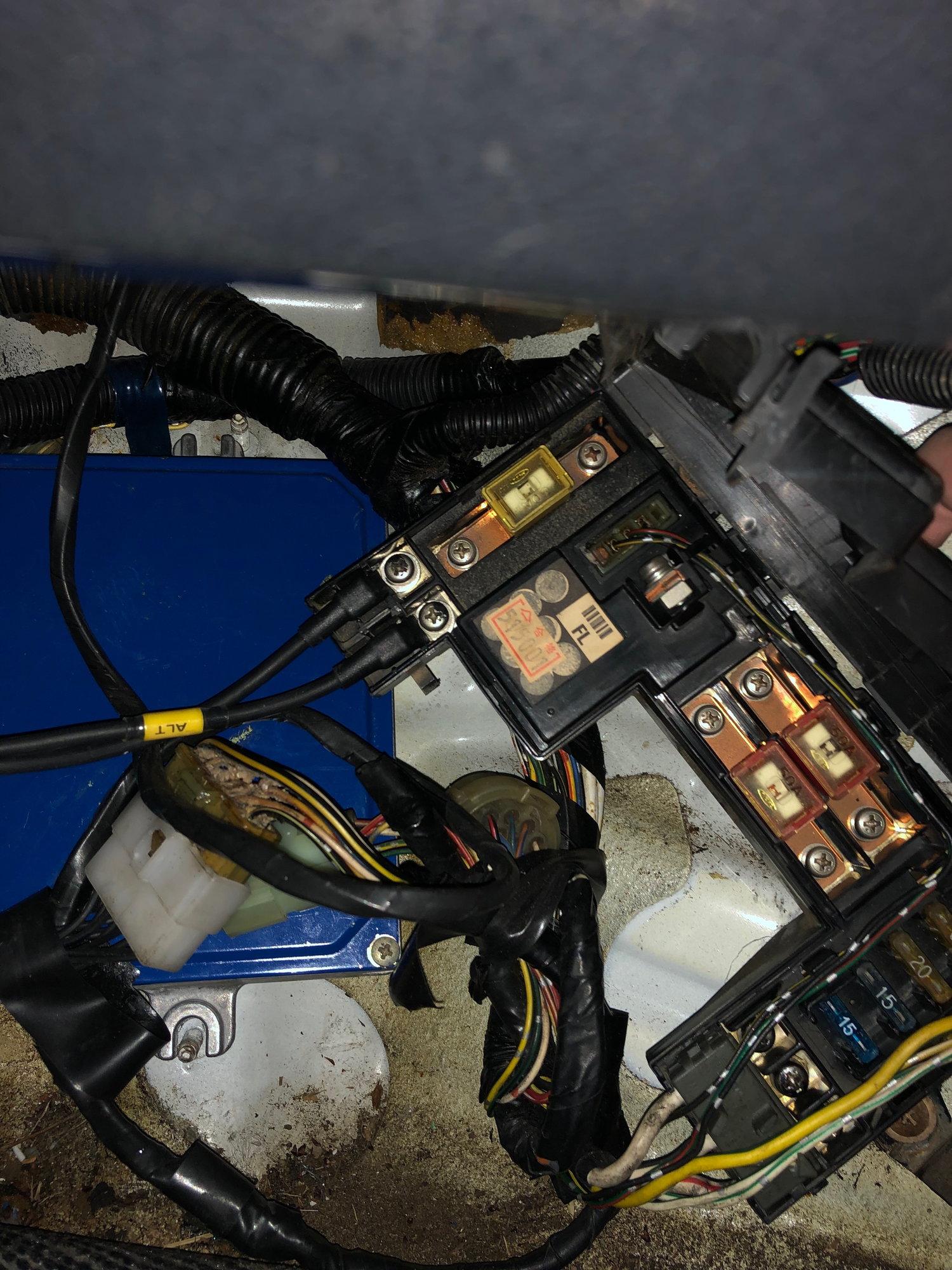 [DIAGRAM_0HG]  Fusebox relocation, wire tuck. Crimp or solder? - Honda-Tech - Honda Forum  Discussion   Fuse Box Relocation      Honda-Tech