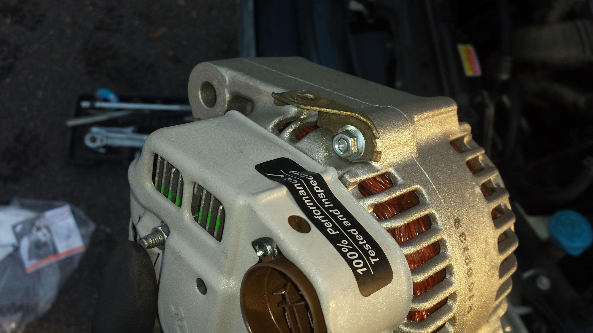 95 Accord EX Wagon Alternator Replacement Honda Tech
