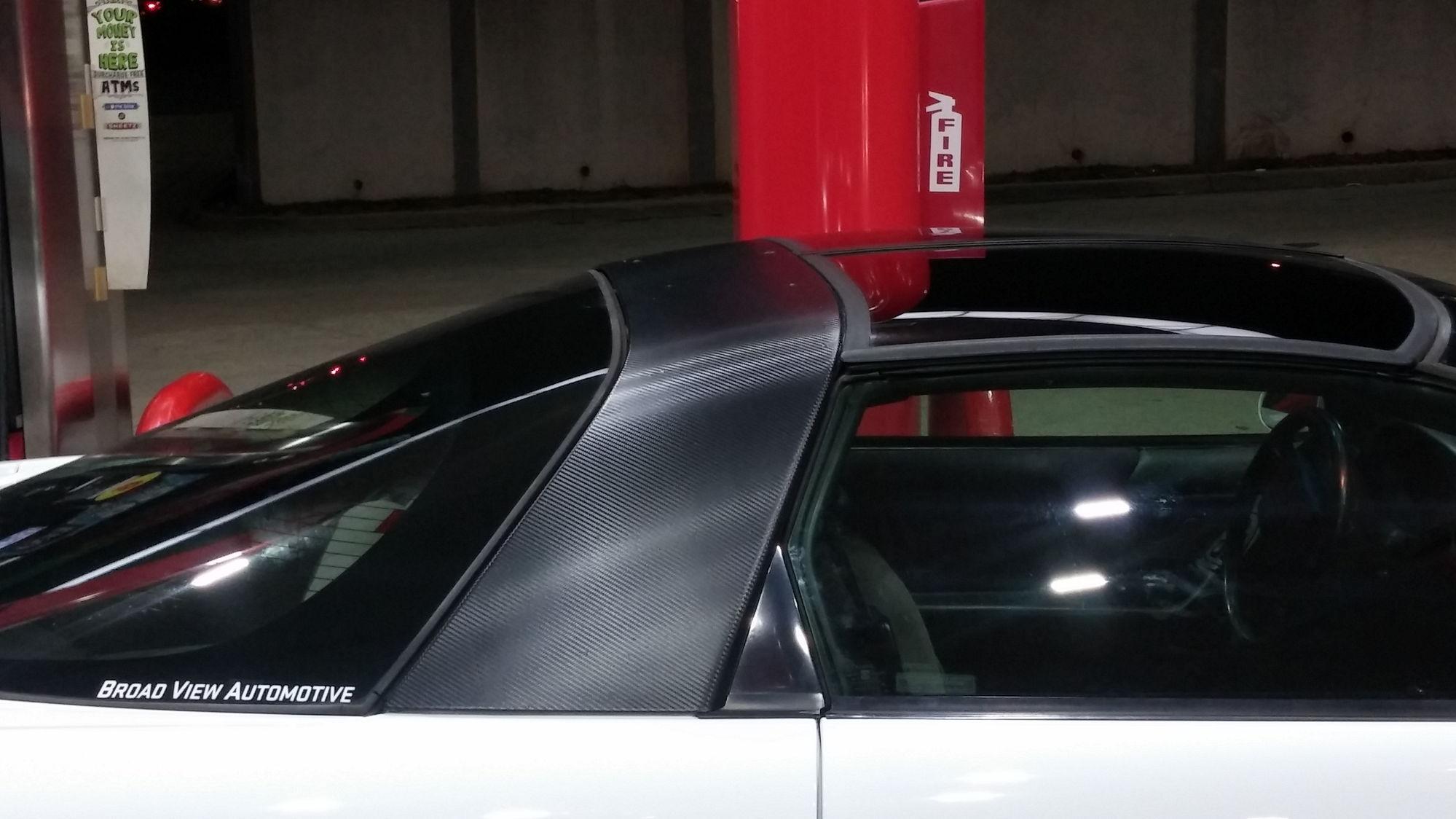 Carbon Fiber wrap for sail panel? - LS1TECH - Camaro and ...