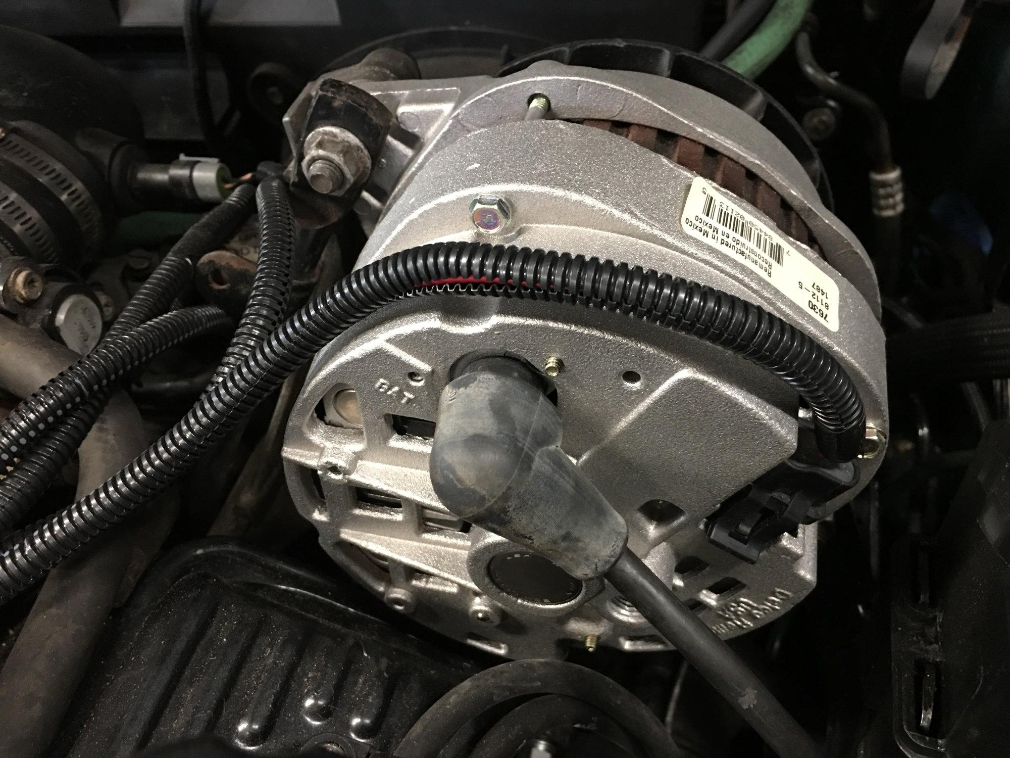 5.3 vs LS1 alternator wiring? - LS1TECH - Camaro and ... Jeep Tj Alternator Wiringhtml on