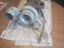 Holset from a 2003 Dodge Cummins picked up for $200 Canadian locally, small amount of shaft play but for the price of a rebuild ($100 Canadian) it will get a full rebuild and refresh, that all the updates for now! Stay tuned