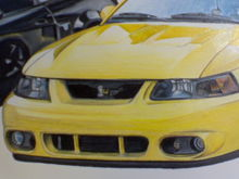 The Yellow Cobra is a drawing.