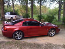 my car with the cobra wheels
