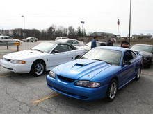 Mustang Club of Indianapolis March Pony Run