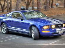 Mustang w/ new silver stripe
