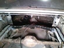 shock brace welded in