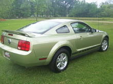 2006 Mustang Legend Lime