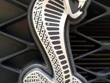 Cobra badge.