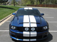 Front & Roof Stripes