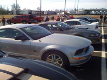 at the Mustang Toys for Tots Cruise