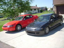 Sitting next to my old civic