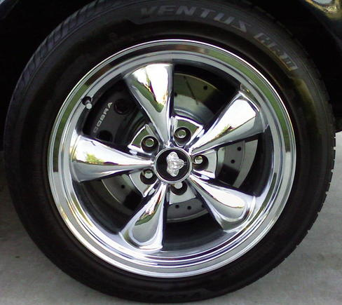 Wheel/Tire/Brake combination.