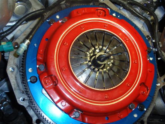 Mcleod RST twin disc clutch