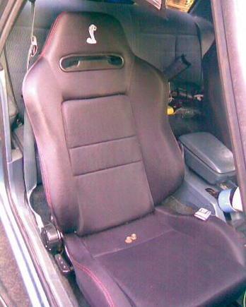 roush racing seats.