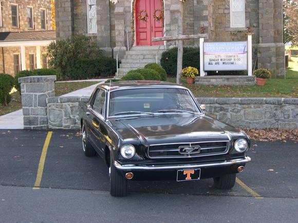 Mustang church