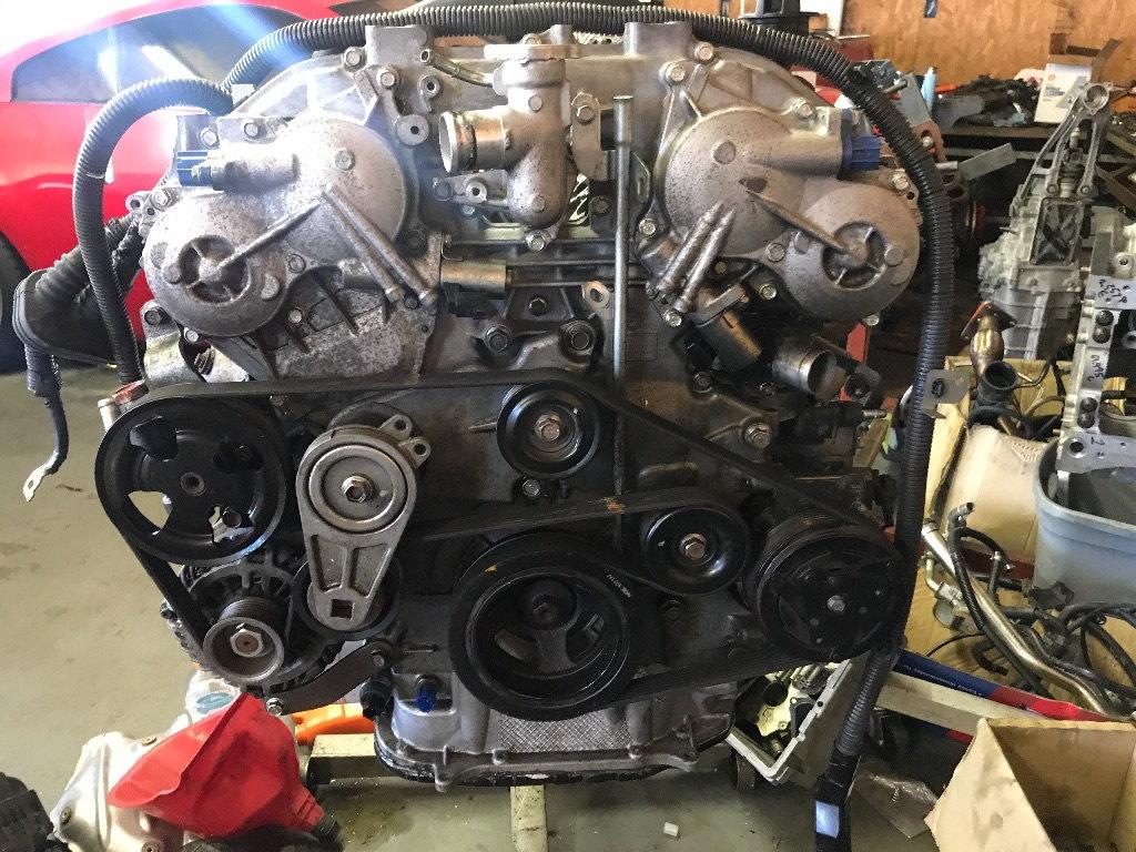 Vq37vhr swap in a hr 350z! - MY350Z COM - Nissan 350Z and 370Z Forum