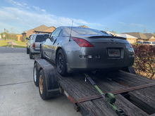Trailered for the first drift event
