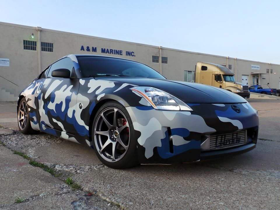 Official Vinyl Wrapping Thread My350z Com Nissan 350z