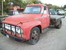1954 Ford F600 winch truck V8 4 speed 1 1/2 ton