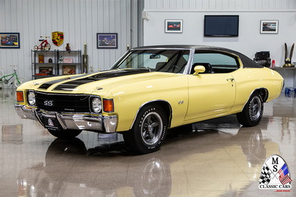 1972 Chevrolet Chevelle SS. The Real Deal