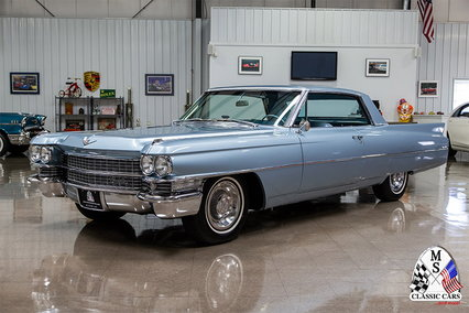 1963 Cadillac Coupe DeVille. Hemmings Auction