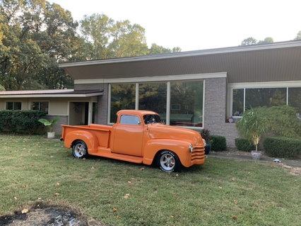 52 Chevy, 327 four barrel, turbo 350