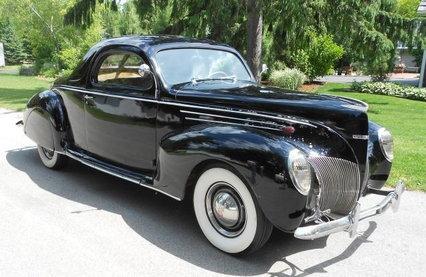 1939 Lincoln Zephyr 3 Window