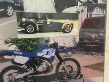 My DT125 (may have been 2001?) My fun bus and my Tiger 6 Zetec on bodies kit car.