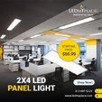 Enhance Indoor Lighting with 2X4 LED panel lights From LEDMy  for sale $59.99