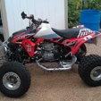 Honda ATV TRX450R Race Quad  for sale $9,000
