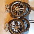 ALL SEASON TIRES AND WHEELS FOR ANY CORVETTE  C7 VARIANT  for sale $1,500