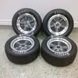 Hoosier Road Racing Tires With Wheels - $950   for sale $950