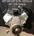 MTI 93 LS1 5.7L 543hp & 435 ft/lb torque
