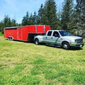 F-350 DRW 2WD Supercab Long bed +42ft total length two-car e