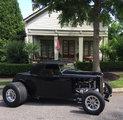 1932 BLACK HIGH-BOY FORD ROADSTER