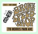 Vintage Bronx Speed Shop Decal  for sale $7.49