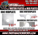 NEW! Now Selling Motor Plates & Mid Plates