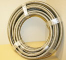 Used -12 Braided Stainless Steel CPE Hose 58ft.